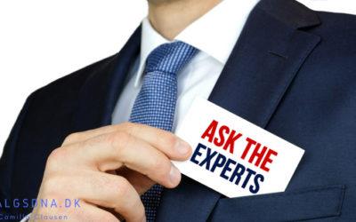 Hvornår er du ekspert?